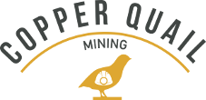 Copper Quail Mining Recruitment Logo